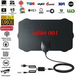 100 Mile Range Antenna TV Digital HD Skywire Antena Digital