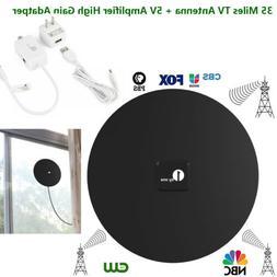 1byone  Indoor Digital TV HDTV Antenna UHF/VHF/1080P Skywire