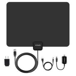100Mile 1080P HD Digital Indoor Amplified TV Antenna HDTV wi