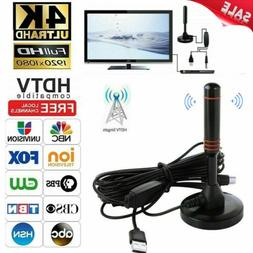 1080p 4K 200 Mile Range TV Antenna Digital HD Skywire Indoor
