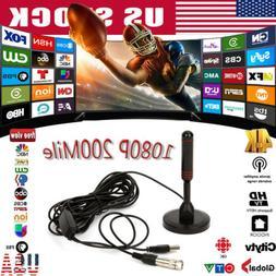 1080P 4K HD Digital Indoor Amplified TV Antenna With Amplifi