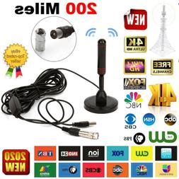 1080P HD Digital Indoor Amplified TV Antenna HDTV with Ampli