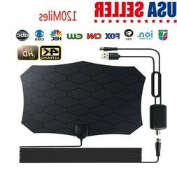 120 Miles Range Antenna Smart TV Digital HD 4K Antena Indoor