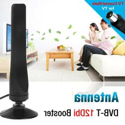 12dBi DVB-T IEC Interface TV Antenna Amplifier Indoor HDTV B
