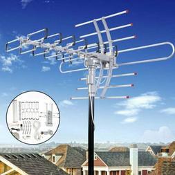 150 Miles HDTV Outdoor Amplified Antenna HD TV Directional U