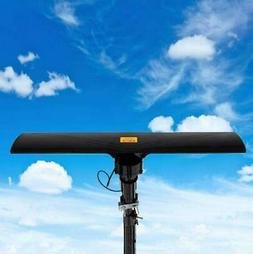 Leadzm 150 Miles Outdoor Amplified HD TV Antenna High Gain 2