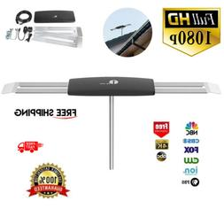150 miles outdoor tv antenna motorized amplified