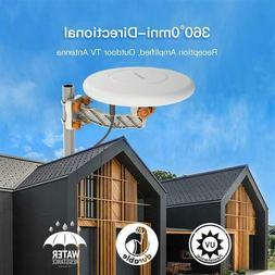 Leadzm 150 Miles TV Antenna Indoor Outdoor Omni-directional