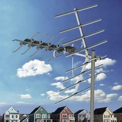 150Mile 1080P HDTV Outdoor Digital TV Antenna Satellite Ampl
