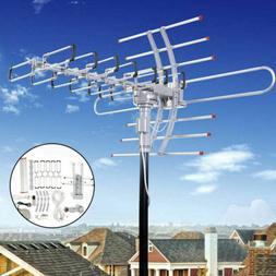 180 Miles HDTV Outdoor Amplified Antenna HD TV Directional U