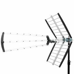 Leadzm 150 Miles Outdoor Amplified HD Digital TV Antenna Hig