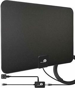 1byone HDTV Antenna, HD Digital Indoor TV Antenna UPGRADED 2