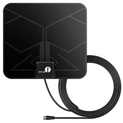1byone HDTV Antenna 25-50 Mile Range 4K Digital Indoor Paper