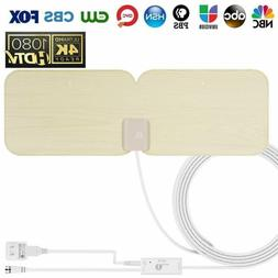 1byone TV Antenna Amplified HD Digital Antenna for 1080P 4K