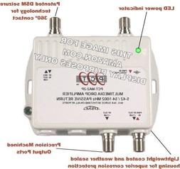 2-Port Bi-Directional Cable TV HDTV Amplifier Splitter Signa