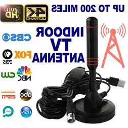 200 Mile Range Antenna TV Digital HD Skywire Antena Digital