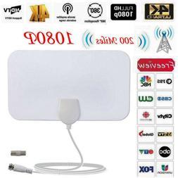 200 Mile Range HDTV 1080p Antenna TV Digital HD Skylink 4K D