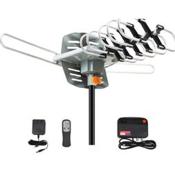 200 miles tv antenna amplified long range