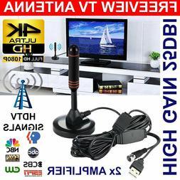 200Miles 1080P Indoor Digital TV HDTV Antenna UHF/VHF Skywir