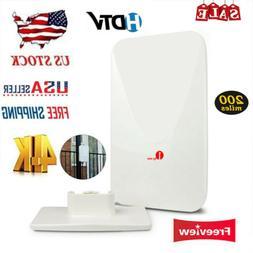 1byone 200Miles HD Amplified TV Antenna Digital Signal Analo