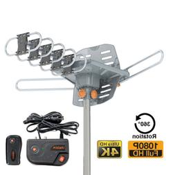 200miles tv antenna amplified long range outdoor