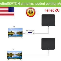 2017 new Indoor Digital TV HDTV Amplified Antenna HD ATSC DV