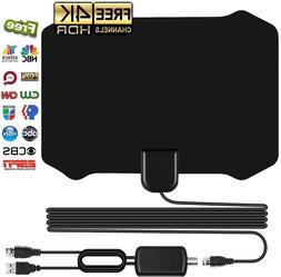 2020 Upgrade Indoor HD TV Antenna with Amplifier 4K Digital