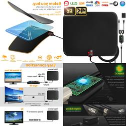 2019 Latest Amplified HD Digital TV Antenna Long 65 80 Miles