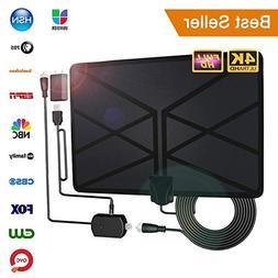 2019 Newest TV Antenna,Indoor Amplified Digital HDTV Antenna