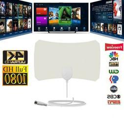 2019 Upgraded Indoor TV Antenna Amplified Digital HDTV 200 M