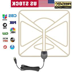 2019 Upgraded Indoor TV Antenna Amplified Digital HDTV 300 M