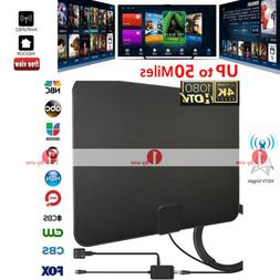 2020 Updated 1byone Digital Amplified Indoor HD TV Antenna A