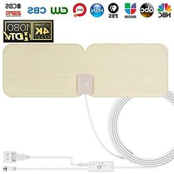 1 BY ONE 202NA-0008 Amplified Hd Digital Antenna For 1080P 4