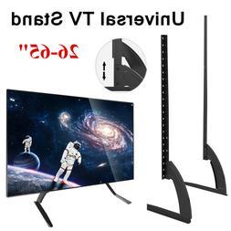 "26-65"" Adjustable TV Stand Base Wall Mount Bracket Tabletop"