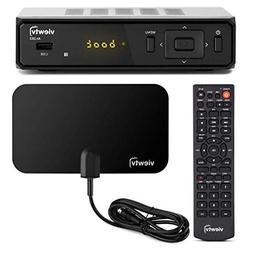 ViewTV AT-300 ATSC Digital TV Converter Box Bundle with View