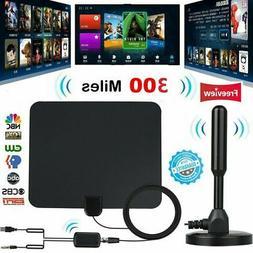 300 Mile Range Antenna TV Digital 1080P HD Skywire 4K Antena
