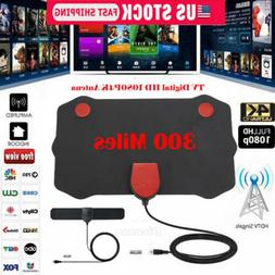 300 Mile Range Antenna TV Digital HD Skywire 4K Antenna HDTV