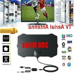 300 Miles Range Antenna TV Digital 4K Antena High Definition