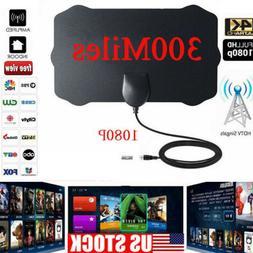 300Mile 1080P HD Digital Indoor Digital  TV Antenna HDTV 300