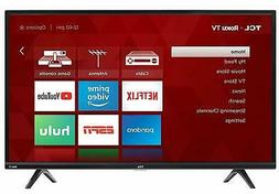 "TCL 32"" 720p 60Hz Roku Smart LED TV - Black"