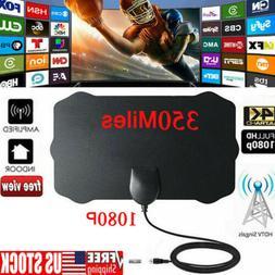 350 Mile Range Antenna TV Digital HD Skywire 4K Antena HDTV