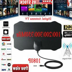 ViewTV Flat HD Digital Indoor Antenna TV Antenna 350 Miles R
