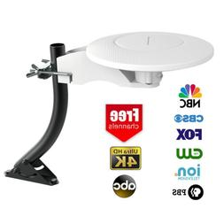 360°Omni-directional Outdoor TV Antenna RV Marine Gain Boos