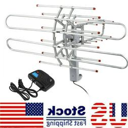 360 rotation 180 mile outdoor tv antenna