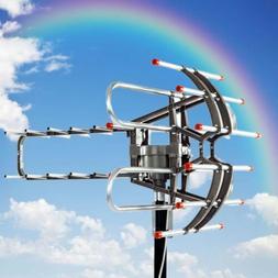 360°Rotation Outdoor Antenna 200Miles Long Range Digital TV