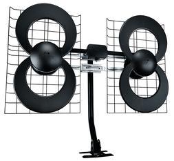 4 indoor outdoor hdtv antenna with mount