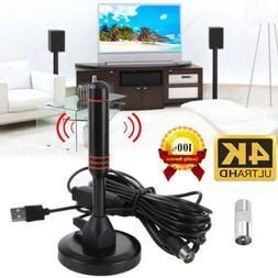 4K Digital Indoor Amplified TV Antenna With Amplifier 200 Mi