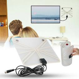 50-100 Mile Range HDTV Antenna Digital Flat Clear View 1080P