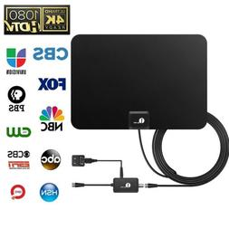 50Miles Indoor Digital HD TV Antenna with Signal Amplifier B