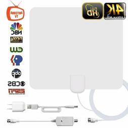 Leaf Paper Thin Indoor HDTV Television Amplified HD TV Anten